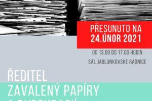 Workshop pro ředitele ZŠ a MŠ – Ředitel zavalený papíry a byrokracií
