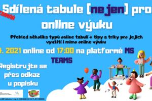 Sdílená tabule (nejen) pro online výuku