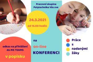 On-line konference Práce s nadanými žáky